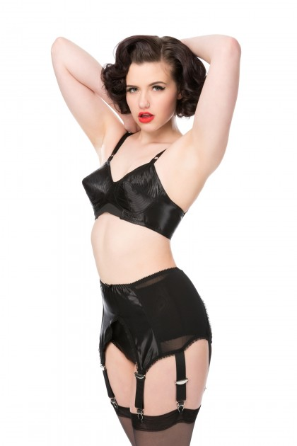 Court Royal Spiral Stitch Marilyn Bullet Bra