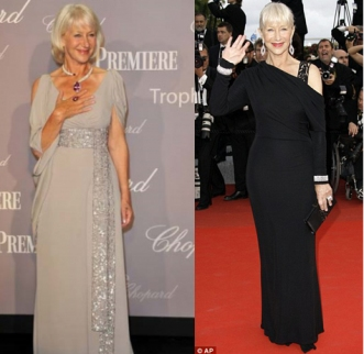 Helen Mirren dazzles at Cannes! - 18 May 2010