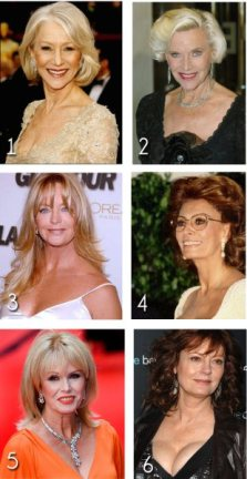 Top 6 Sexiest Women Over 60 - 10 June 2010
