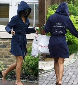 Stars love their dressing gowns - 10 August 2010